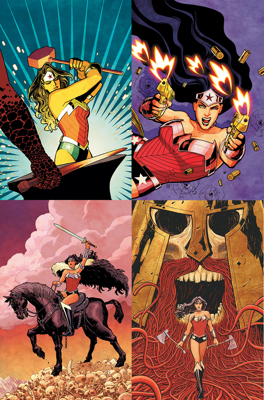 Various covers by Cliff Chiang
