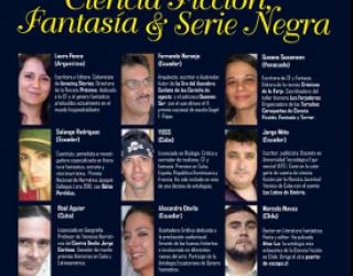 IV Encuentro Internacional de Narrativa de Ciencia Ficción, Fantasía y Serie Negra / FIL Quito 2013