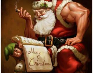 Asni's Art Blog: Happy 25 December!