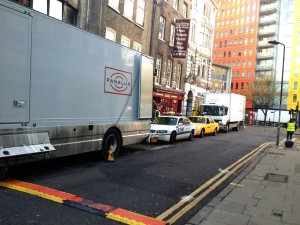 Kick-Ass 2 filming in London