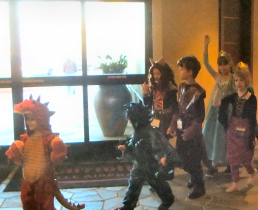 Kids' Dragon Parade