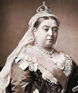 Queen Victoria (by A. Bassano) 1882