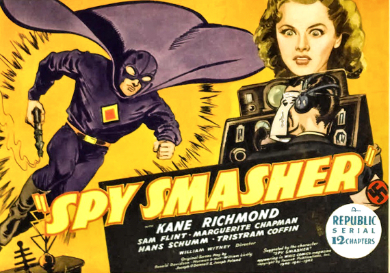 Spy Smasher Lobby Card