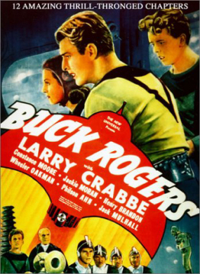 "Larry ""Buster"" Crabbe as Buck Rogers"