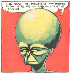 The Mekon, evil Treen leader