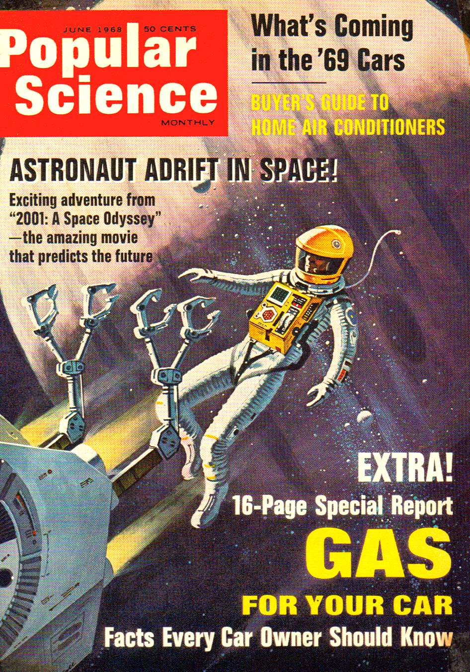 RG Cameron Jan 3rd Illo #1 Popular Science Cover