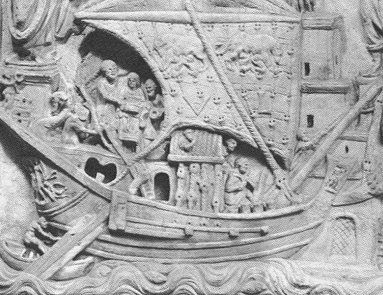 RG Cameron January 10 Illo #4 'Merchant ship'