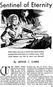 """Sentinel of Eternity"" in 1951 spring issue of ""10 Story Fantasy"""