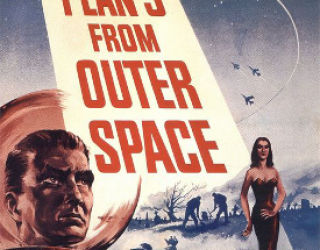 Ed Wood's Paper Hubcap Space Fleet, or: The Truth Behind the Flying Saucers In 'Plan Nine From Outer Space'