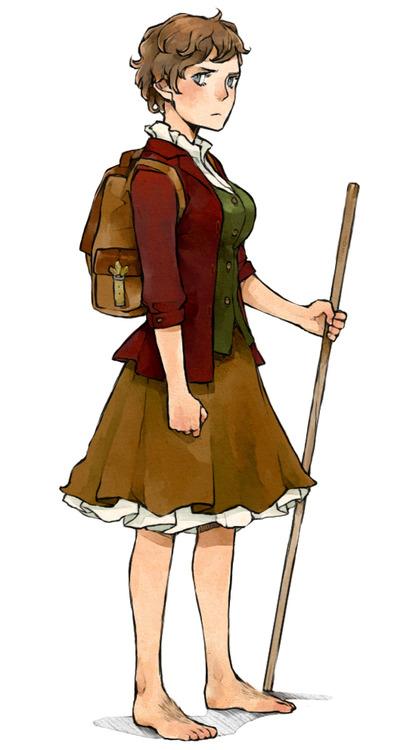 female hobbit