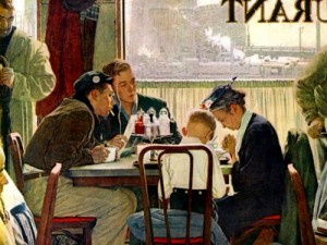 Norman Rockwell a record for the artist