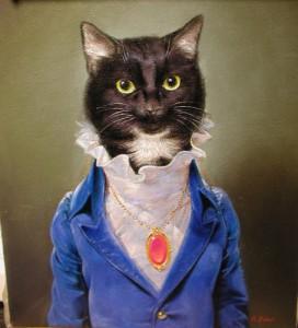 """Richard Bober """"Zippy"""" pet portrait commission"""