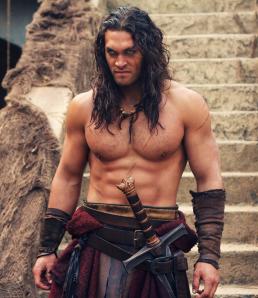 Figure 11 – Jason Momoa as Conan LEFT