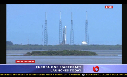Figure 2 - Europa One Launch