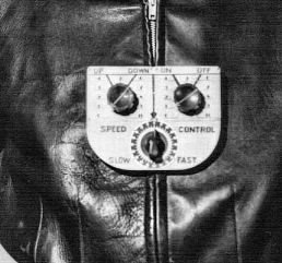 Figure 3 - Commando Cody's Flying Suit Control Panel