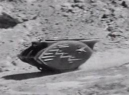 Figure 5 - Lunar Car, or Tank, pursuing Cody
