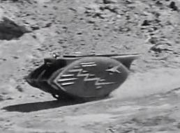 Figure 5 - Lunar Car, or Tank, pursuing Cody