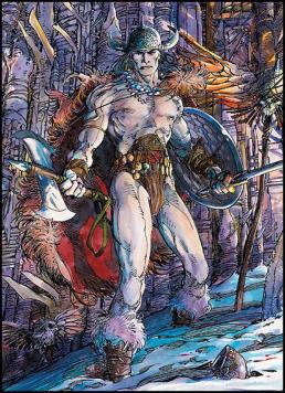 Figure 7 – Barry Windsor-Smith's Conan
