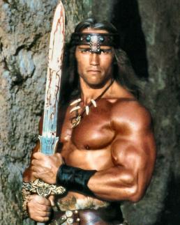 Figure 9 – Arnold Schwarzenegger as Conan (1982)