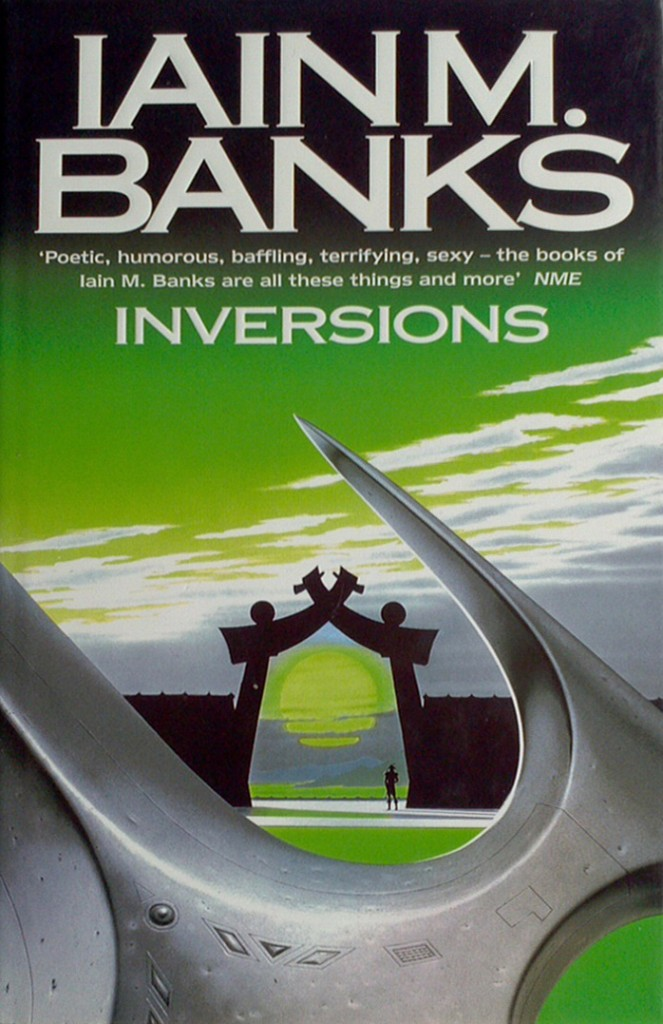 Inversions, front cover, first edition