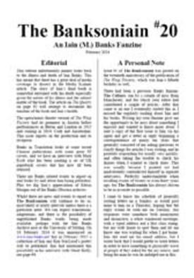 The Banksoniain #20 (1)