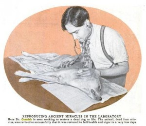 An image of Robert Cornish from Popular Science, February 1935.