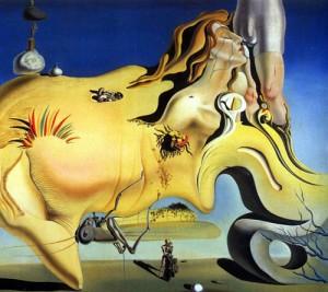 "Salvador Dali ""The Great Masturbator"" 1929."