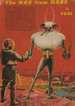 06 FRANK R. PAUL - THE MAN FROM MARS