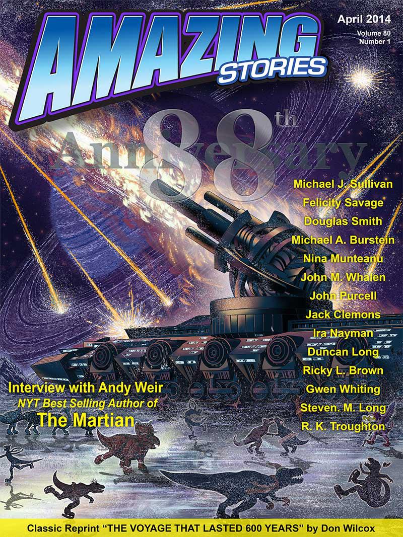 Amazing April 2014 cover