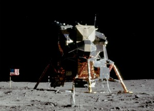 The Apollo 11 Lunar Module-Eagle