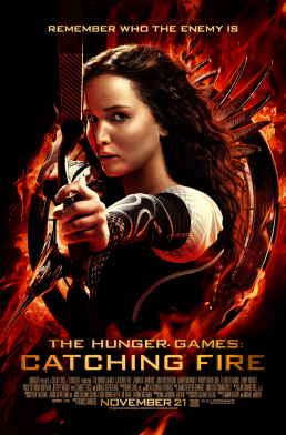 Figure 1 - Catching Fire poster