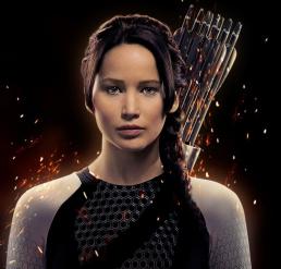 Figure 2 - Jennifer Lawrence as Katniss Everdeen