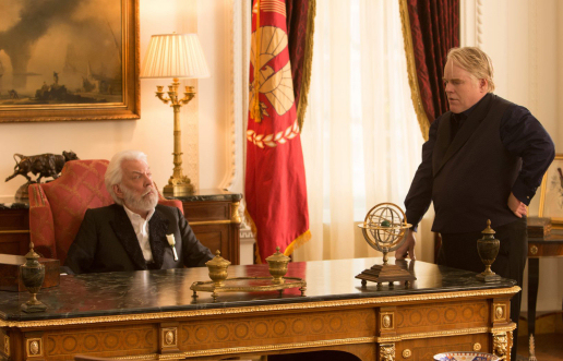 Figure 3 - President Snow and Plutarch Heavensbee