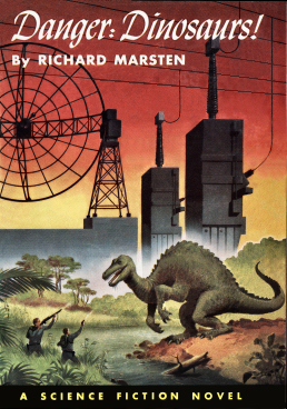 Figure 4 - Danger Dinosaurs cover by Alex Schomburg