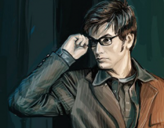 Asni's Art Blog: His Hotness the Doctor