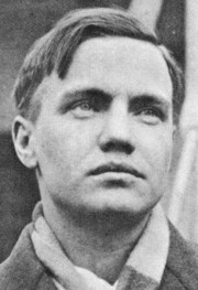 George Antheil, composer and partner on many of Lamarr's inventions. Courtesy Wikimedia Commons.