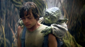 Yoda Training His Apprentice