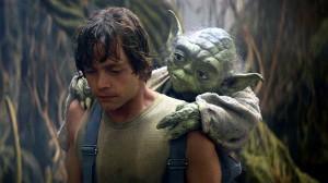 Yoda Training His Apprentice