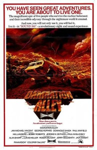 Damnation Alley Movie Poster 1977