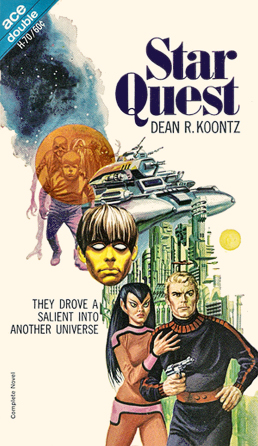 Figure 1 - Ace H-070 Star Quest by Dean R. Koontz, cover by Gray Morrow