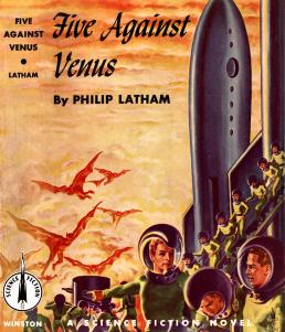 Figure 1 - Latham Five Against Venus Finlay cover