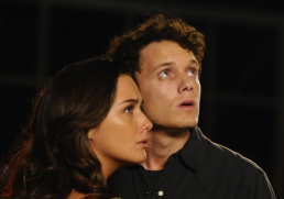Figure 2 - Odd Thomas (Anton Yelchin) and Stormy (Addison Timlin)