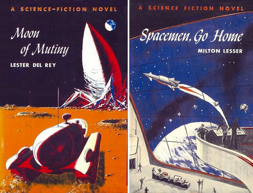 Figure 4 - Emshwiller's Winston Covers