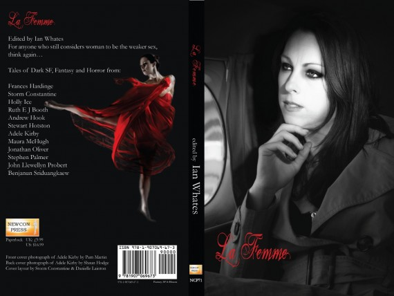 La Femme, edited by Ian Whates - front and back covers