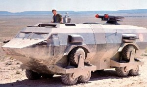 Landmaster vehicle from Damnation Alley film