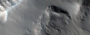 This is the discovery image of columnar basalts on Mars: NASA/JPL/University of Arizona