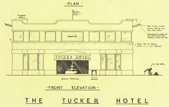 RG Cameron April 11 Illo #1 'FacadeTucker Hotel'