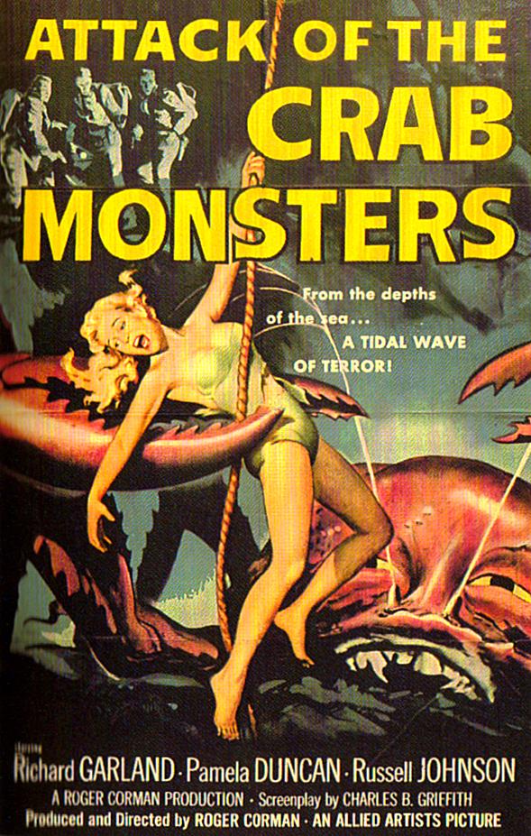 RG Cameron April 5 illo #1 'Crab Monsters' (1)