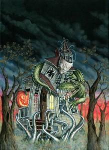 "Jill Bauman ""Acrostic Halloween"""