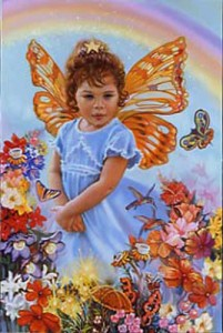 "Jael ""Lovely Eve"" Private commission, Jane & Howard Frank for their grandaughter, age 4-5"